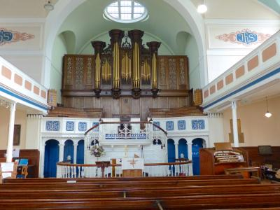 Bishop Street chapel and organ