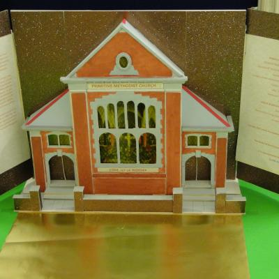 Model of Countesthorpe Road church